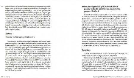 Psihoterapia psihodinamica. Practica bazata pe dovezi empirice - interior