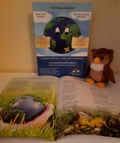 Scrieri pentru copii, de la bunica - vol. 9. Sa ocrotim planeta! - interior