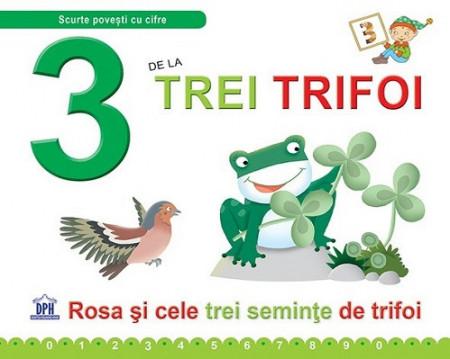 3 de la Trei trifoi - carte ilustrrata de povesti si activitati