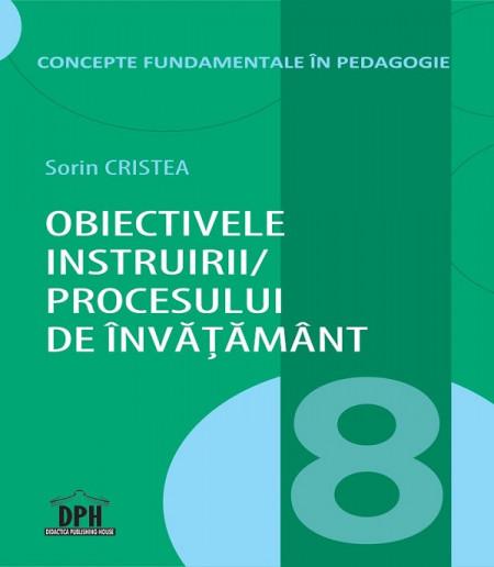 Vol. 8. Concepte fundamentale in pedagogie - coperta