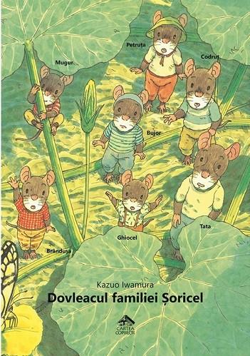 Dovleacul familiei Soricel - coperta