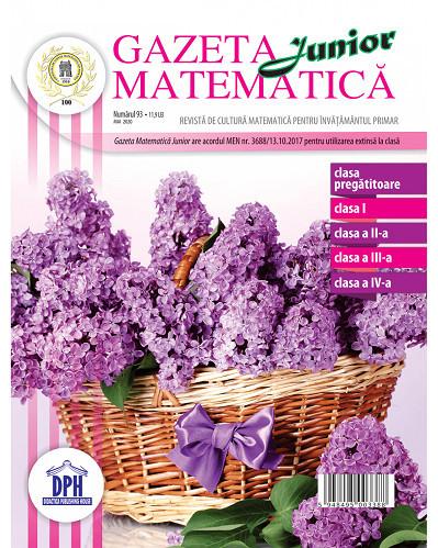Gazeta matematica Junior mai 2020