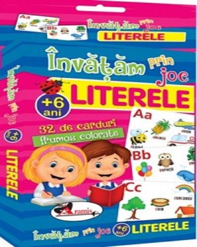 Invatam prin joc. Literele - carduri educative pentru copiii de peste 6 ani