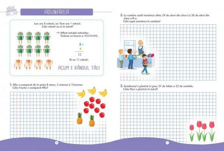 Larousse. Probleme de mate pentru mici genii. Clasa I - interior 2