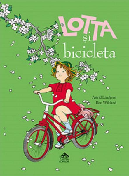 Lotta si bicicleta - poveste despre bucuriile copilariei - coperta