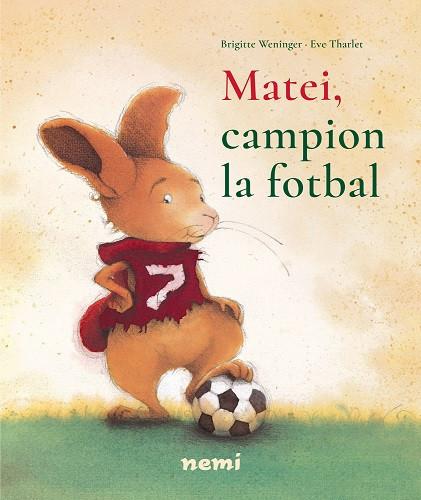 Matei, campion la fotbal - povesti ilustrate pentru copiii de 2-5 ani