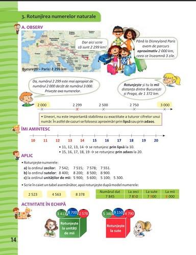 Matematica. Manual pentru clasa a III-a. 2 volume: semestrul 1 si 2 - interior 3