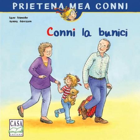 Prietena mea Conni. Vol. 13 - Conni la bunici - coperta