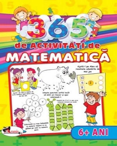 365 de activitati de matematica - peste 6 ani