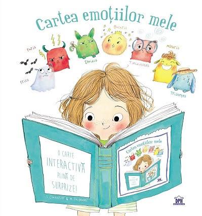 Cartea emotiilor mele - carte interactiva despre emotii