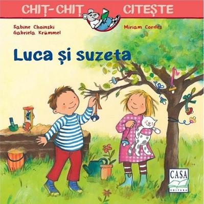 Chit-Chit citeste. vol. 6 - Luca si suzeta - coperta