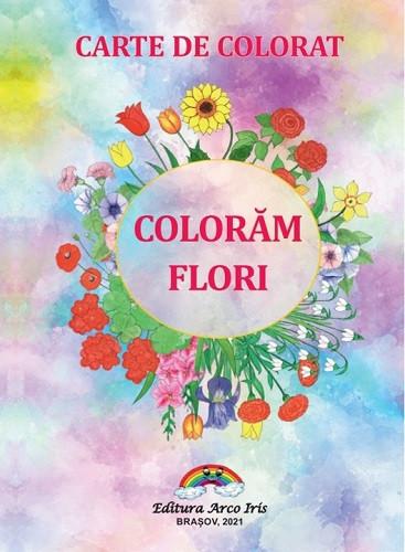 Coloram flori - coperta