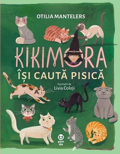 Kikimora isi cauta pisica - coperta