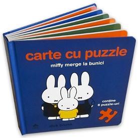 Miffy merge la bunici - carte cu puzzle - coperta