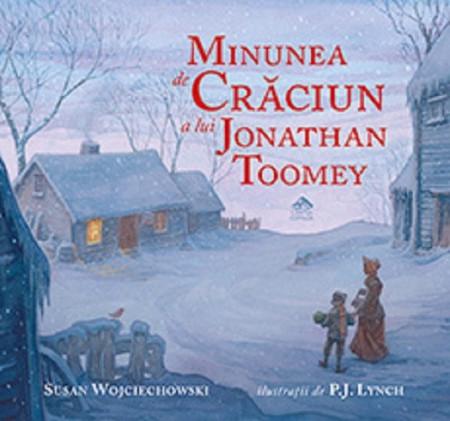 Minunea de Craciun a lui Jonathan Toomey - coperta