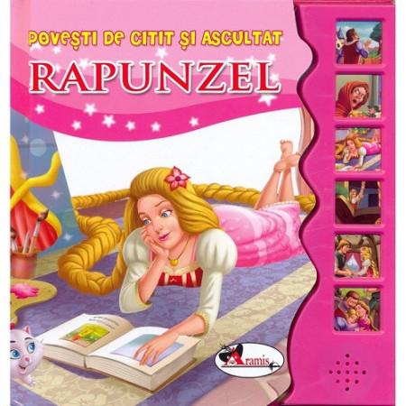 Rapunzel - carte cu butoane sonore - coperta