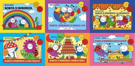 Transport gratuit la pachet promotional 6 volume  Bobita si Buburuza