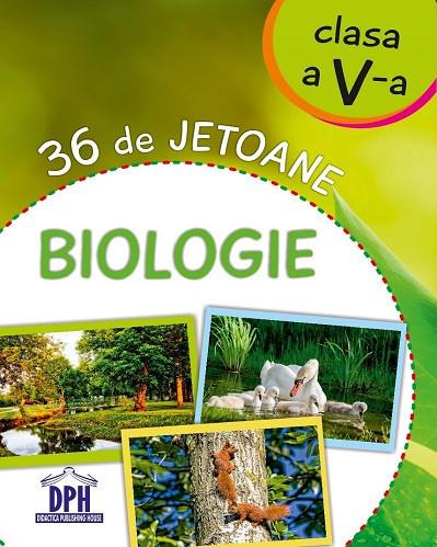 Biologie - 36 de jetoane pentru clasa a V-a