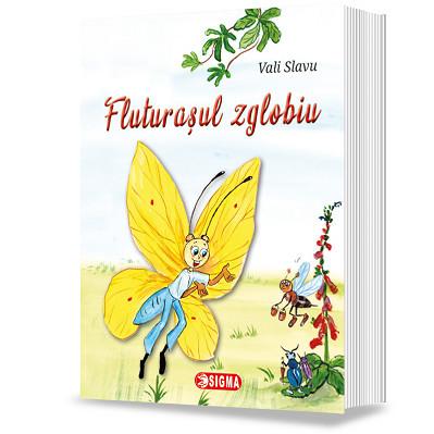 Fluturasul zglobiu - poezii de Vali Slavu - coperta