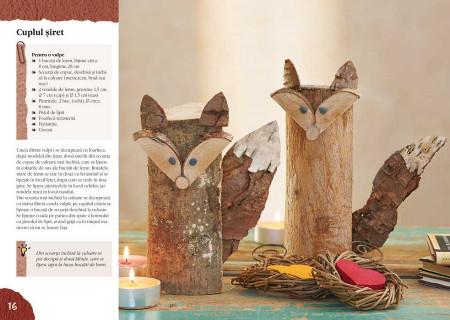 Idei creative, Decoratiuni naturale pentru toamna si iarna - interior