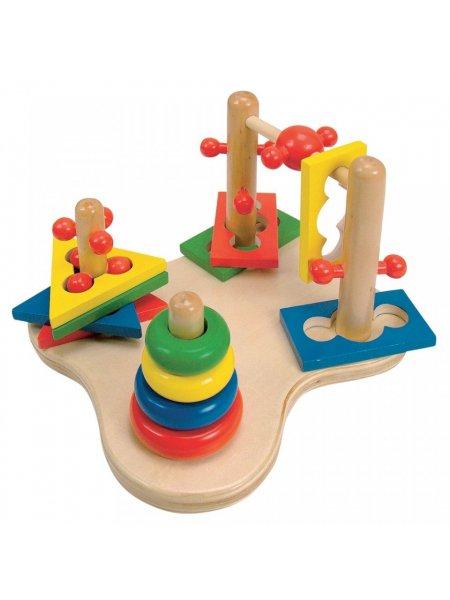 Joc motricitate 3D - din lemn