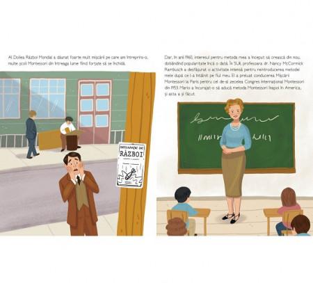 Maria Montessori - autobiografie pentru copii - interior 3