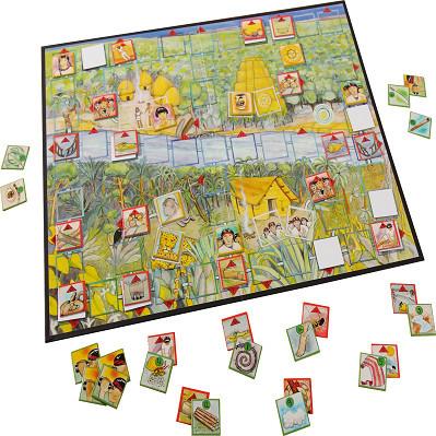 Ochii JUnglei - joc de strategie si cooperare +8 ani - plansa de joc