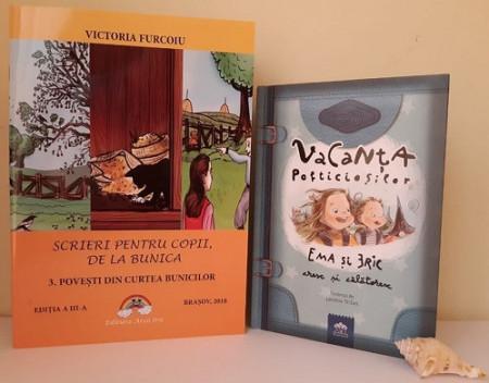 """Pachet promo """"Vacanta de poveste"""":  o carte de poezii ilustrate si o carte de povesti de Printesa Urbana"""