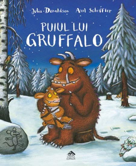 Puiul lui Gruffalo - carte despre emotii si temeri