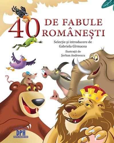 40 de fabule romanesti - antologie de fabule romanesti