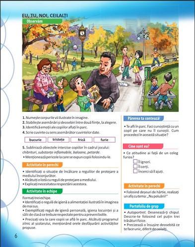 Educatie civica. Manual pentru clasa a III-a. 2 volume: semestrul 1 si 2 - interior 1