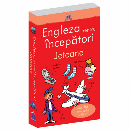 Engleza pentru incepataori - jetoane cu peste 200 de cuvinte de baza