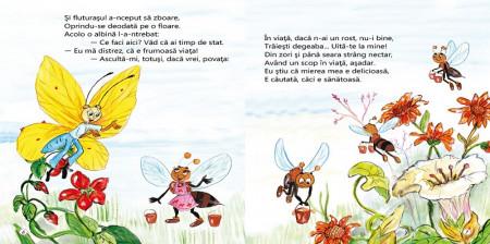 Fluturasul zglobiu - poezii de Vali Slavu - interior