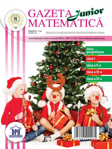 Gazeta Matematica Junior nr. 98 - decembrie 2020