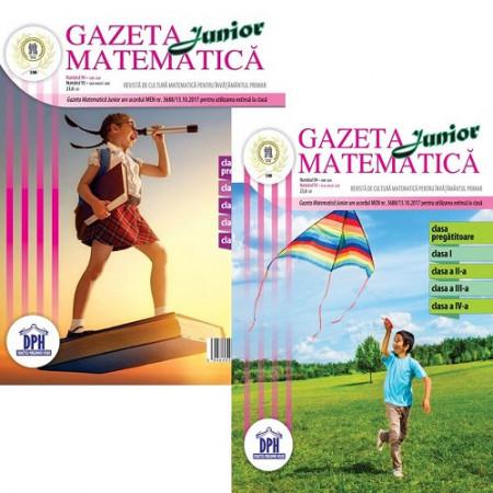 Gazeta matematica Junior nr. 94 iunie si nr. 95 iulie-august 2020