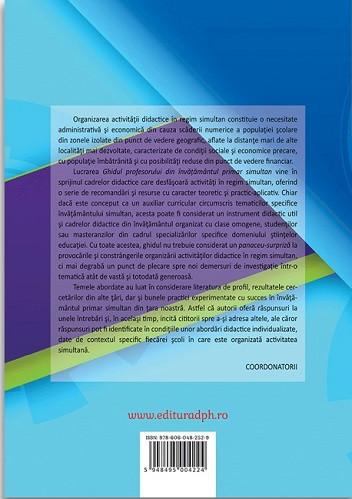 Ghidul profesorului din invatamantul primar simultan - coperta 4