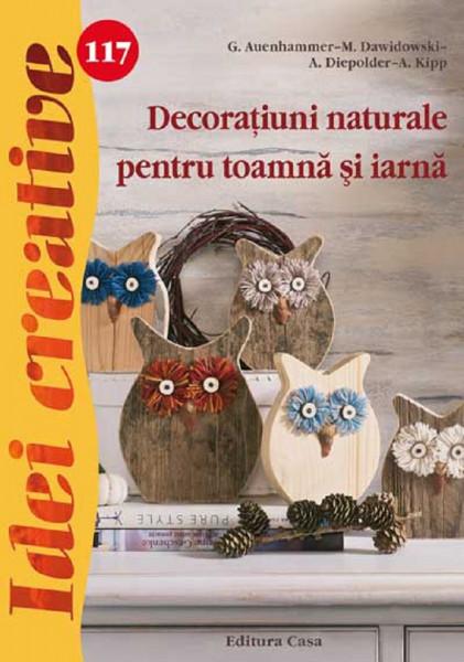 Idei creative, Decoratiuni naturale pentru toamna si iarna - coperta