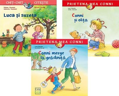 Pachet 2-3 ani START - Conni si olita, Luca si suzeta, Conni merge la gradinita