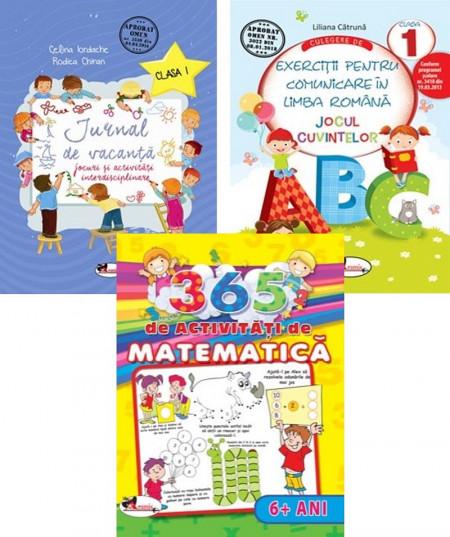 Pachet promotional activitati clasa I - comunicare, matematica, jocuri si activitati interdisciplinare