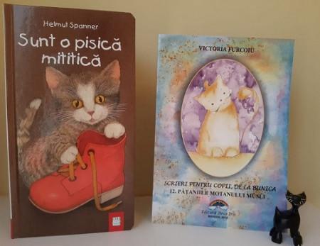 "Pachet promo ""Pisici"":  o carte de poezii ilustrate si o carte de povesti integral cartonata"
