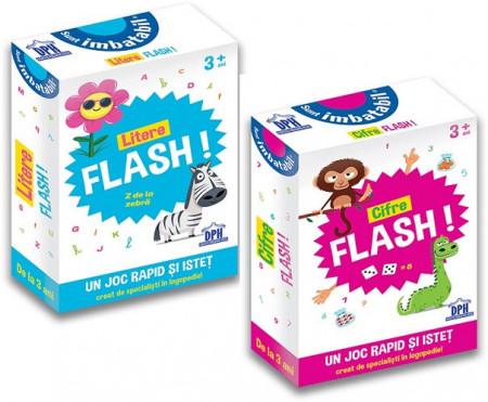 Pachet Sunt Imbatabil - Litere Flash si Cifre Flash