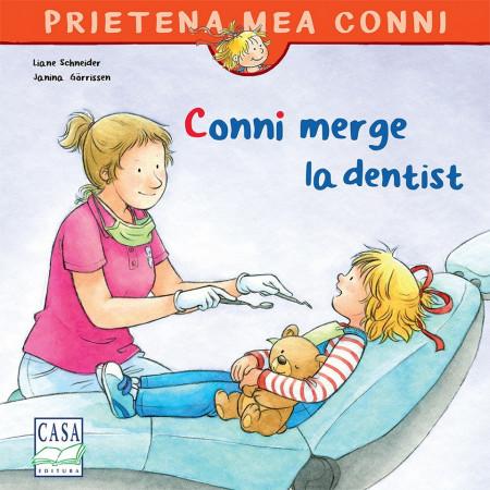 Prietena mea Conni. Vol. 5 - Conni merge la dentist - coperta