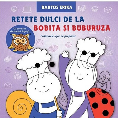 Retete dulci de la Bobita si Buburuza - coperta