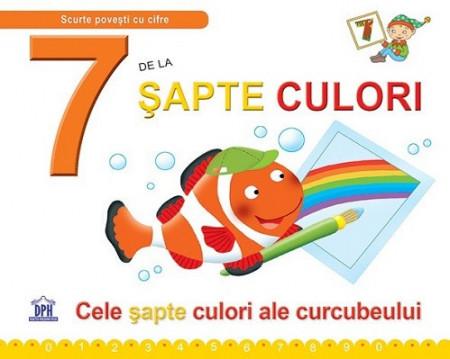 7 de la Sapte culori - carte ilustrrata de povesti si activitati