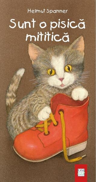 Sunt o pisica mititica - carte integral cartonata - coperta