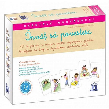 Casetele Montessori. Invat sa povestesc