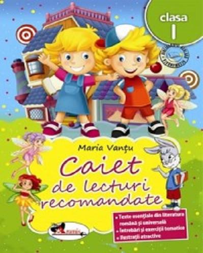 Caiet de lecturi recomandate pentru clasa I