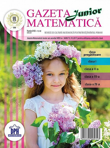 Gazeta Matematica Junior nr. 103, mai 2021