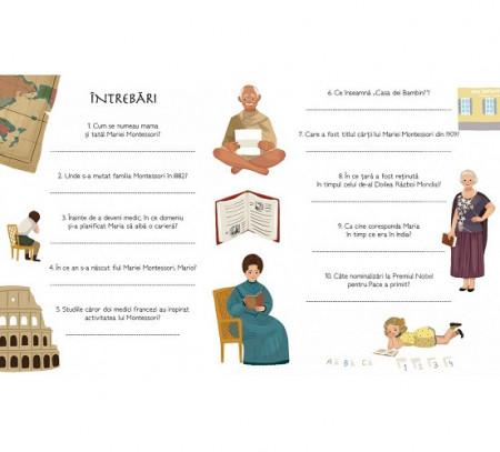 Maria Montessori - autobiografie pentru copii - interior 4