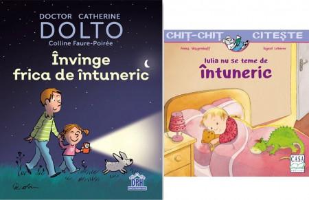 Pachet 3-5 ani Frica de intuneric - 2 carti de povestiri ilustrate